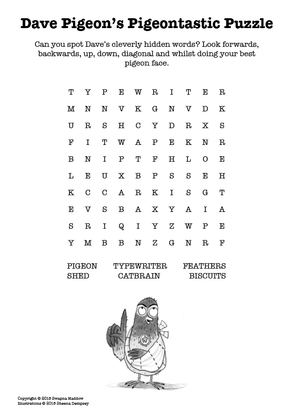 Dave's Word Search