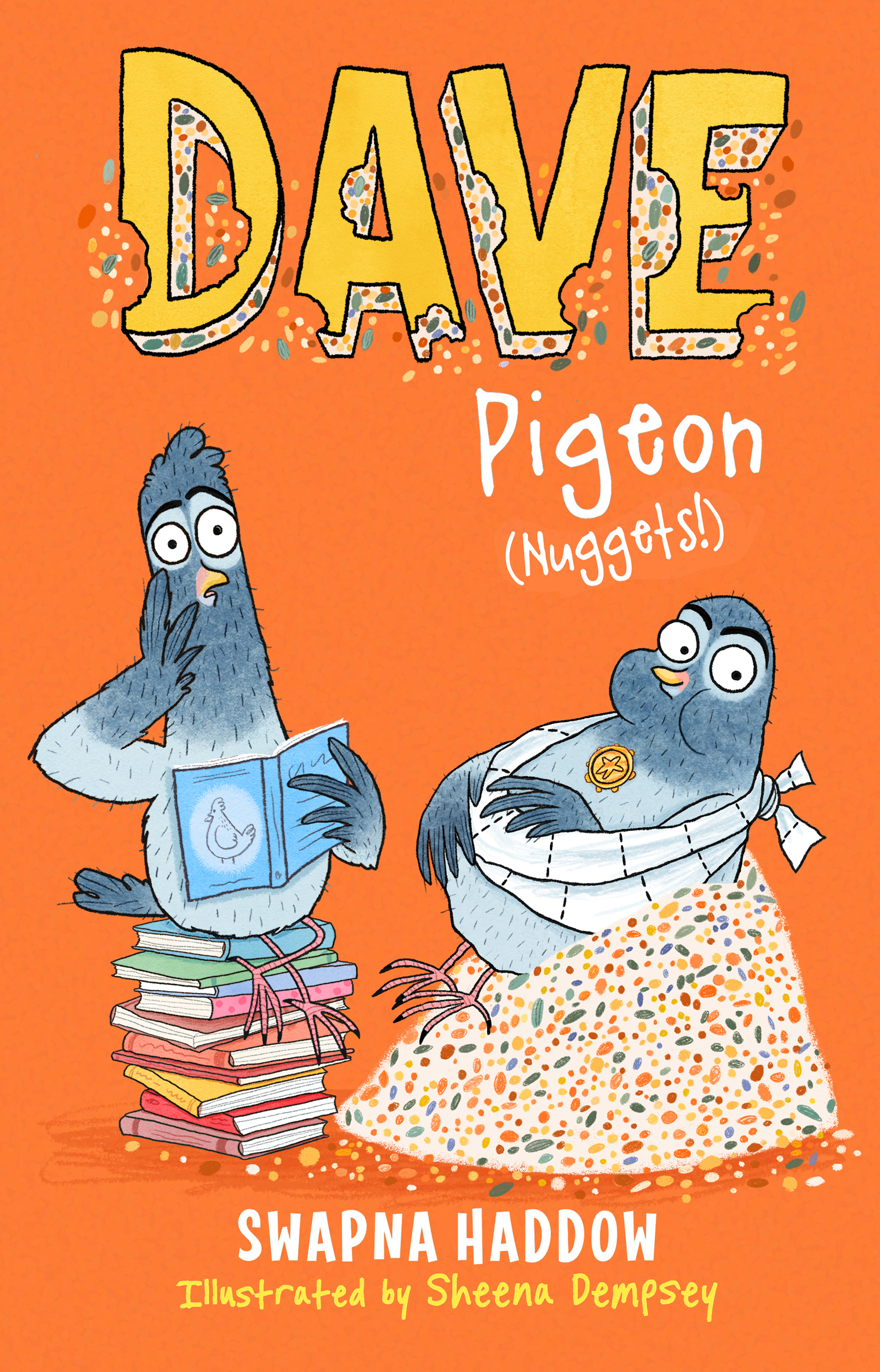 Dave Pigeon Nuggets Cover blog