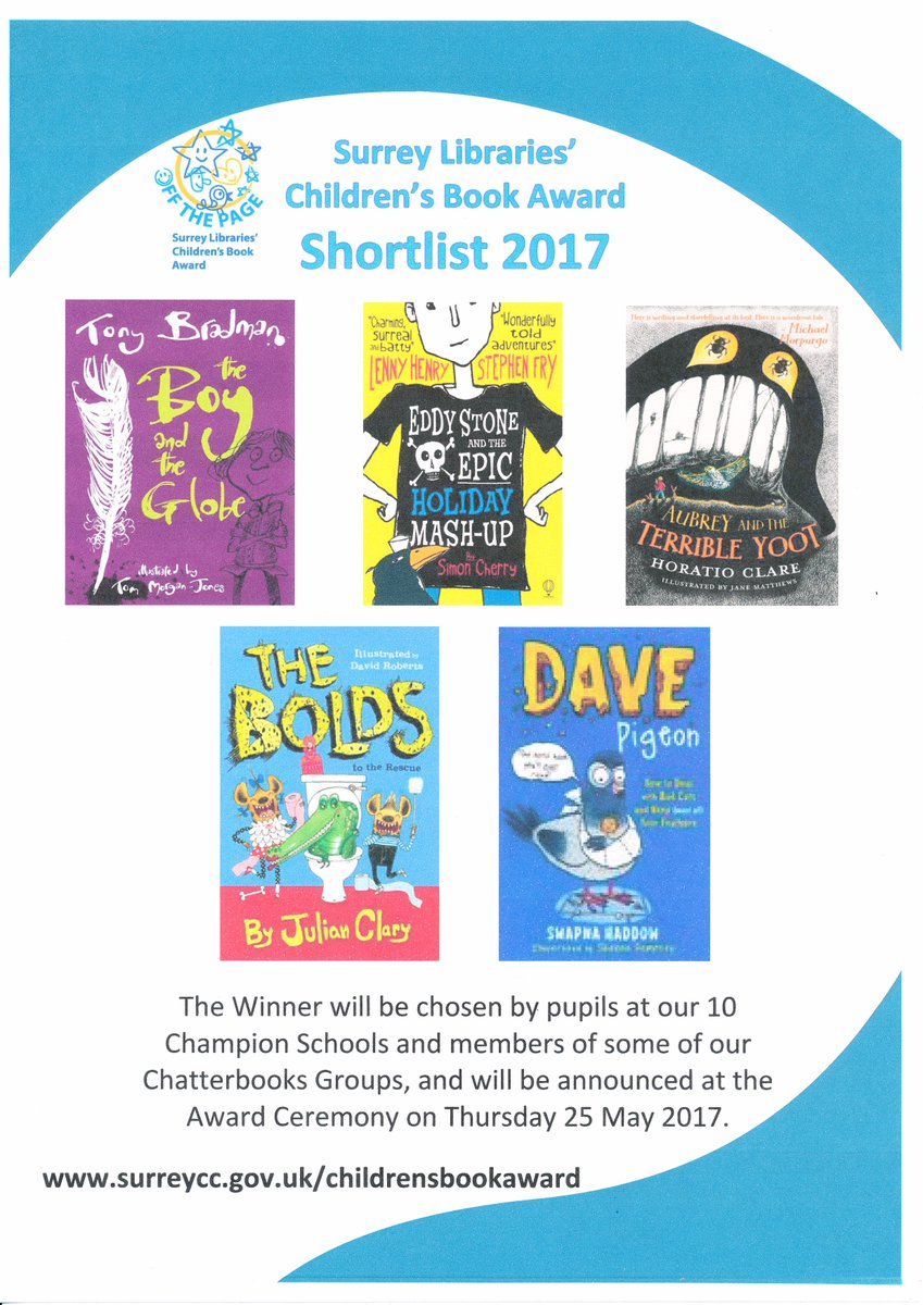 Surrey Libraries Shortlist