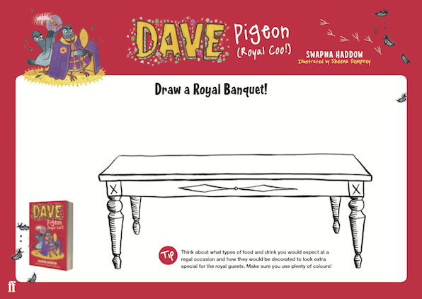 Draw your own Royal Banquet