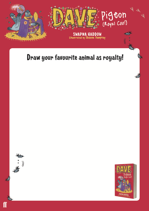 Design a brand new royal animal