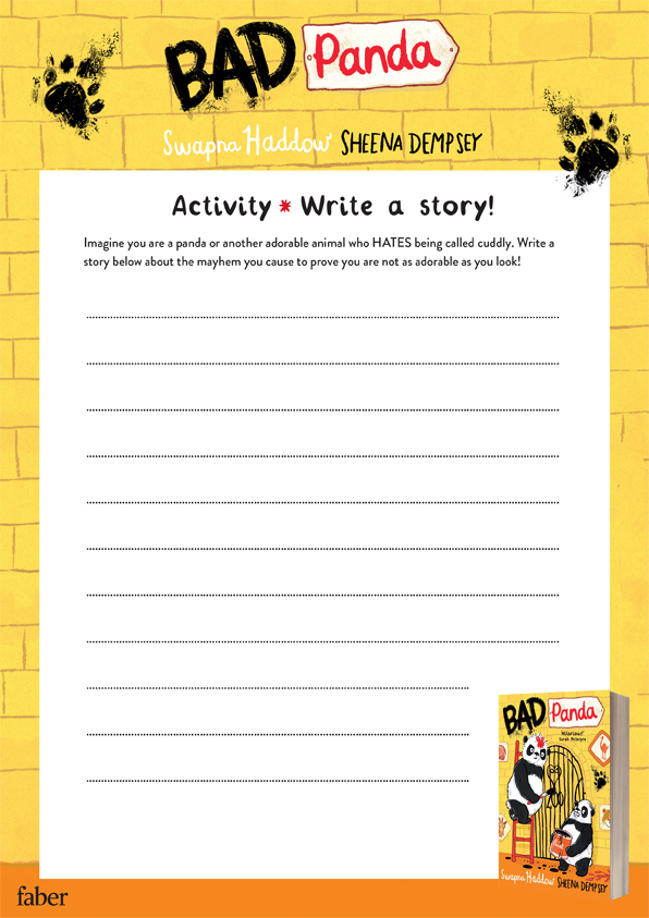 Write your own Bad Panda story