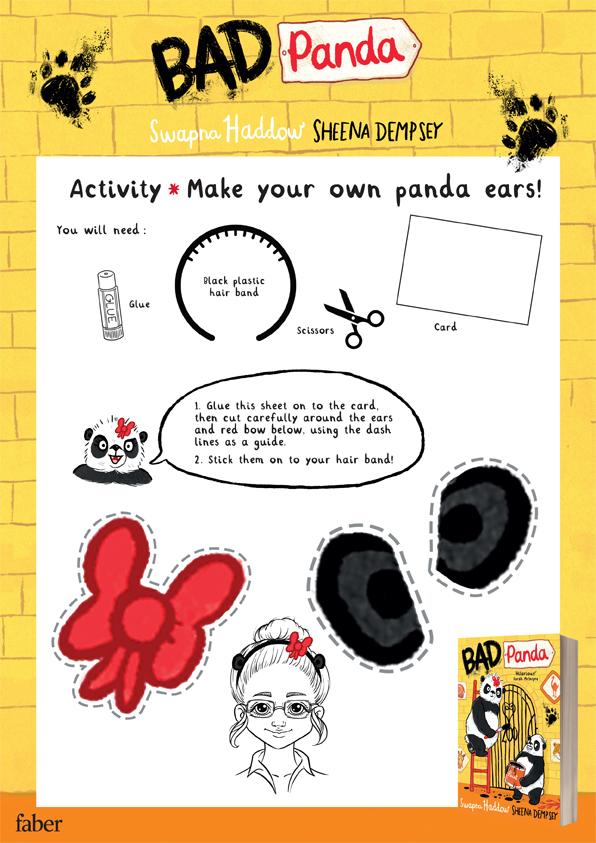Bad Panda ears