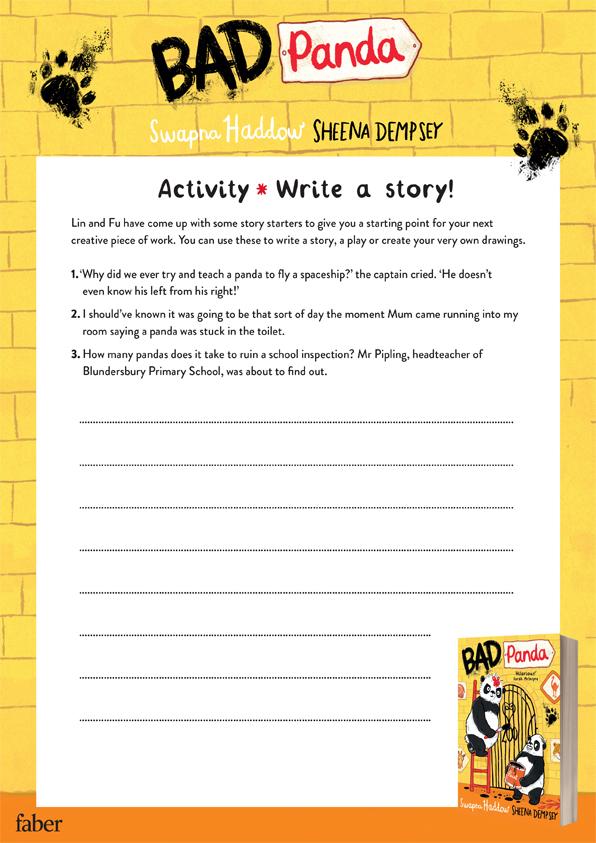 Bad Panda story starters