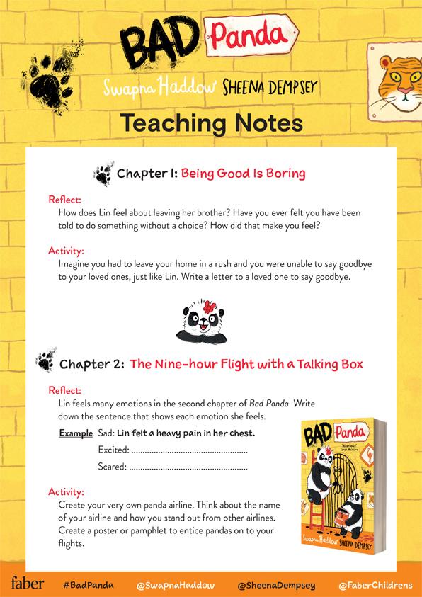 Bad Panda Teaching Notes